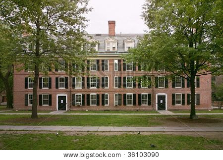 Colonial Brick Building