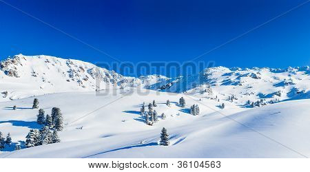 Skiing resort in Austria