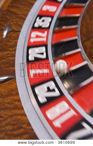 Close Up Of Roulette Table
