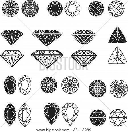 diamond design elements