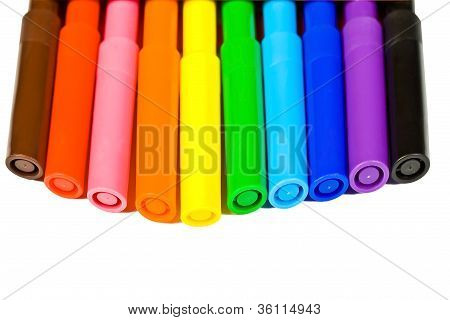 Multicolored Markers
