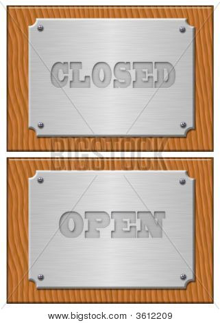 Open, Closed - The Metal Tablet
