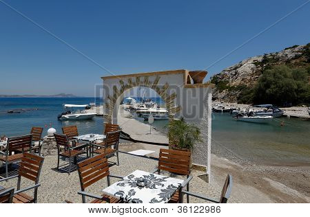 Open Air Restaurant, Kolymbia