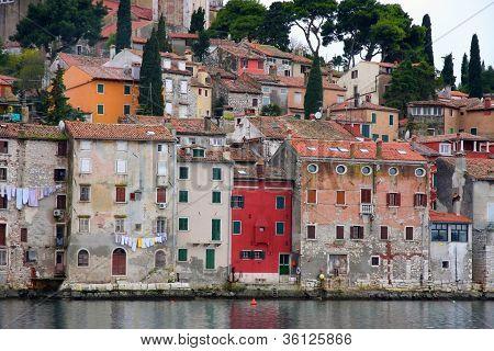 Rovinj Old Town In Istria, Croatia
