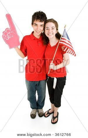 Teen Couple - Loyal Supporters