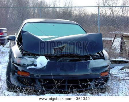 Winter Fender Bender