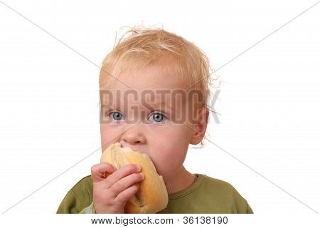 Eating Toddler