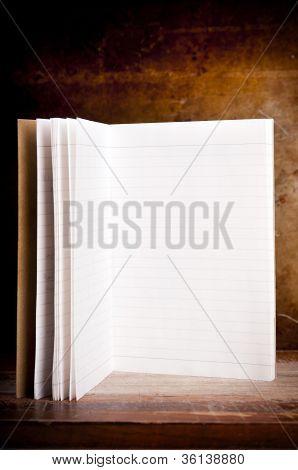 Vintage Blank Notepad