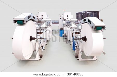 Packaging And Printing Machine Line
