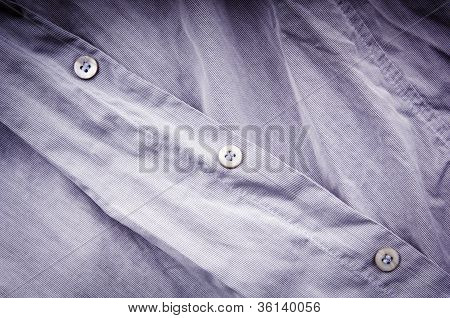 Crumpled Business Shirt
