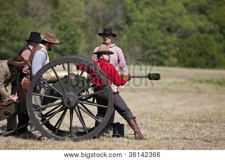 Reencenação da guerra civil