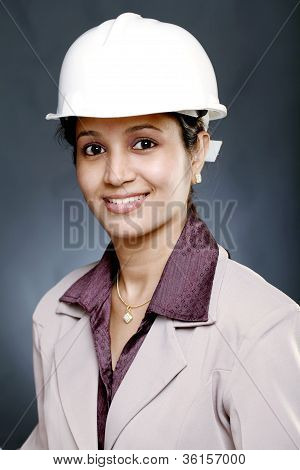 Young Woman Architect