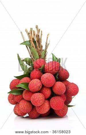 Fresh Of Litchi Fruit