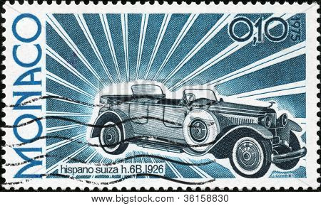 Stamp Hispano Suiza H6B 1926