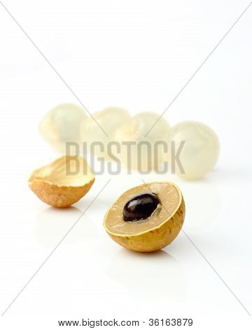 Longan Fruit Isolated