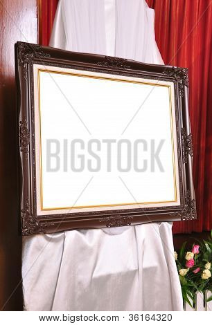 Brown Louise Photo Frame
