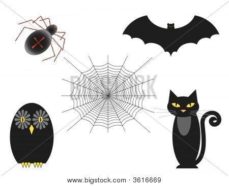 Halloween Set Of Five