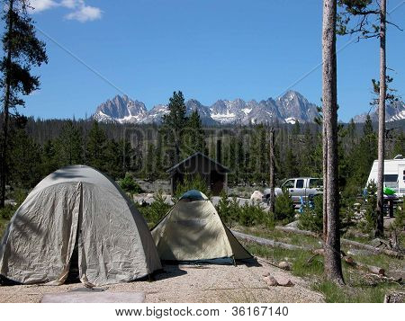 Tent Camping in Idaho