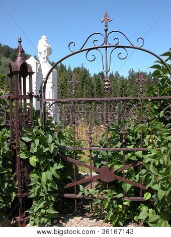 Ornate Gate on Boot Hill