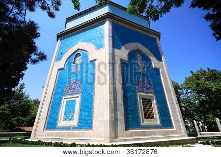 Exterior of Green Mausoleum