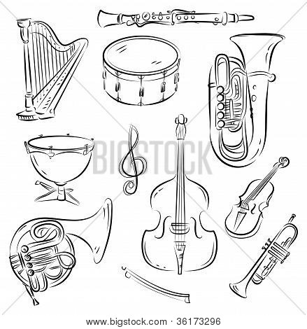 Sinfonieorchester Satz