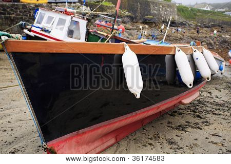 Fishing boats and fenders