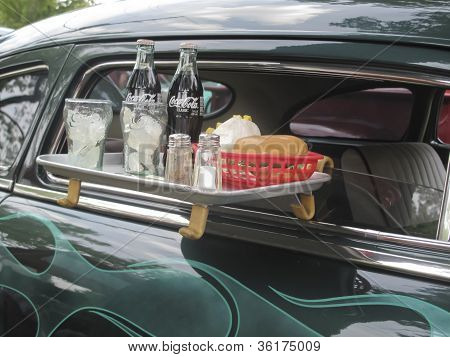1949 Mercury Coupe Drive Thru Tray