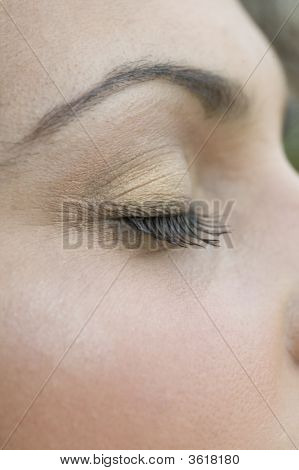 close up of Woman´s Augen