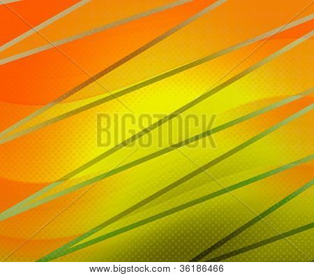 Yellow Old Fashioned Background