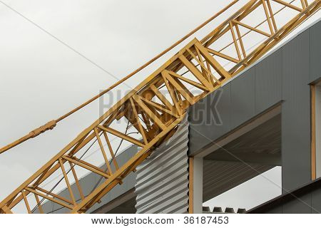 Collapsed Mobile Tower Crane (holland)