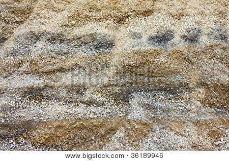 Layers Of Soil And Rock