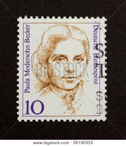Germany - Circa 1970: Stamp Printed In Germany