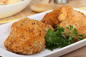 Breaded Chicken Thighs