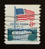 Usa - Circa 1975: Stamp Printed In The Usa
