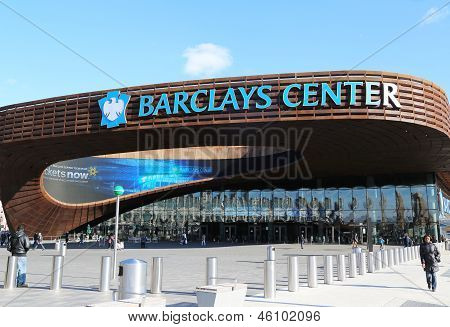 Newest sport arena Barclays center in Brooklyn, New York