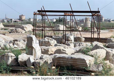 Ruins In Shush