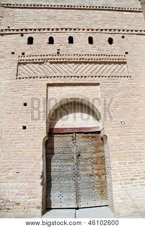 Wooden Door And Tower