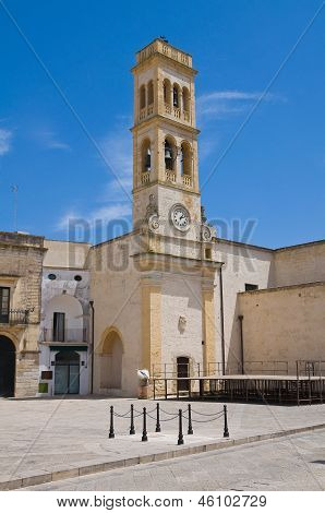Clocktower. Specchia. Puglia. Italy.