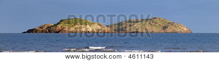 Lamb Island, Owned By Uri Geller, In The Firth Of Forth, Scotland, Uk