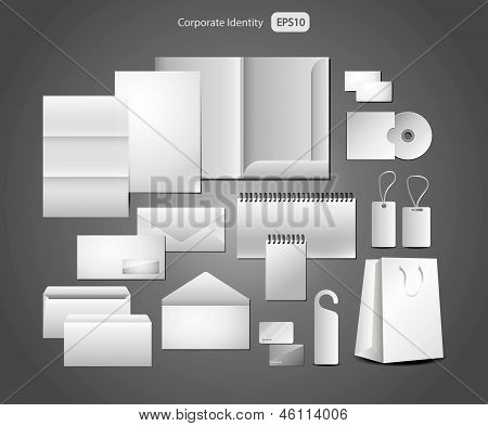 stationery design, corporate templates
