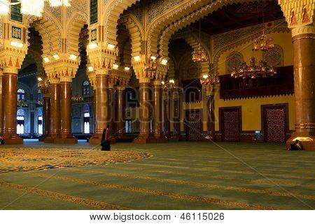 Al-saleh Mosque In The Capital Of Yemen
