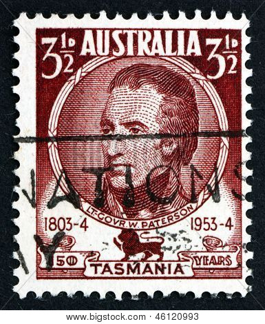 Postage Stamp Australia 1953 William Paterson, Lieutenant Governor