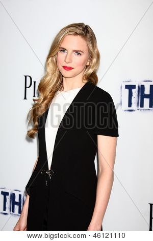 LOS ANGELES - MAY 28:  Brit Marling arrives at