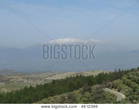 North Israel By Mountain Hermon