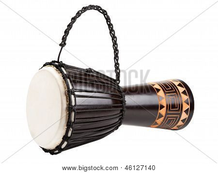Djembe Drum, Isolated