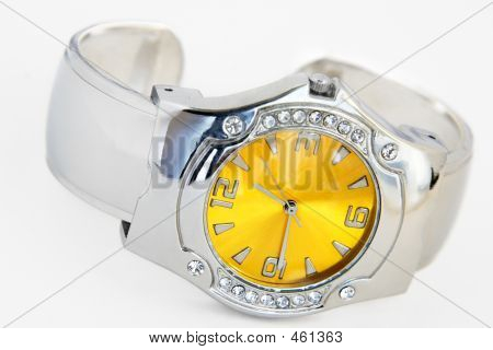 Wrist Watch - Artificial Brilliants