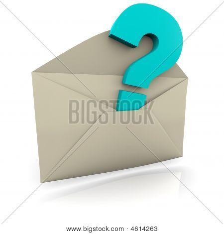Question Mark Envelope