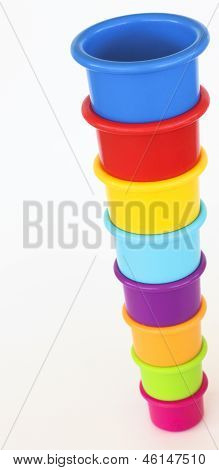 Upside down Cup Tower