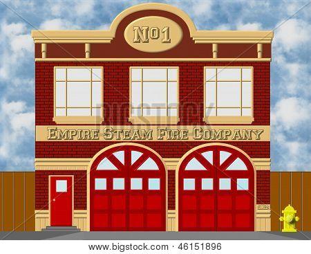 Empire Steam Fire Company background