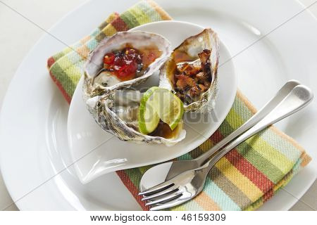 Three Types Of Oysters